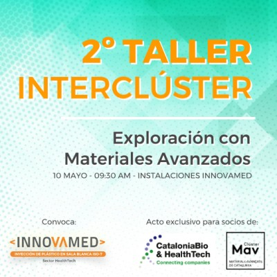 The Second Intercluster Workshop on Exploration with Advanced Materials will be held at Innovamed